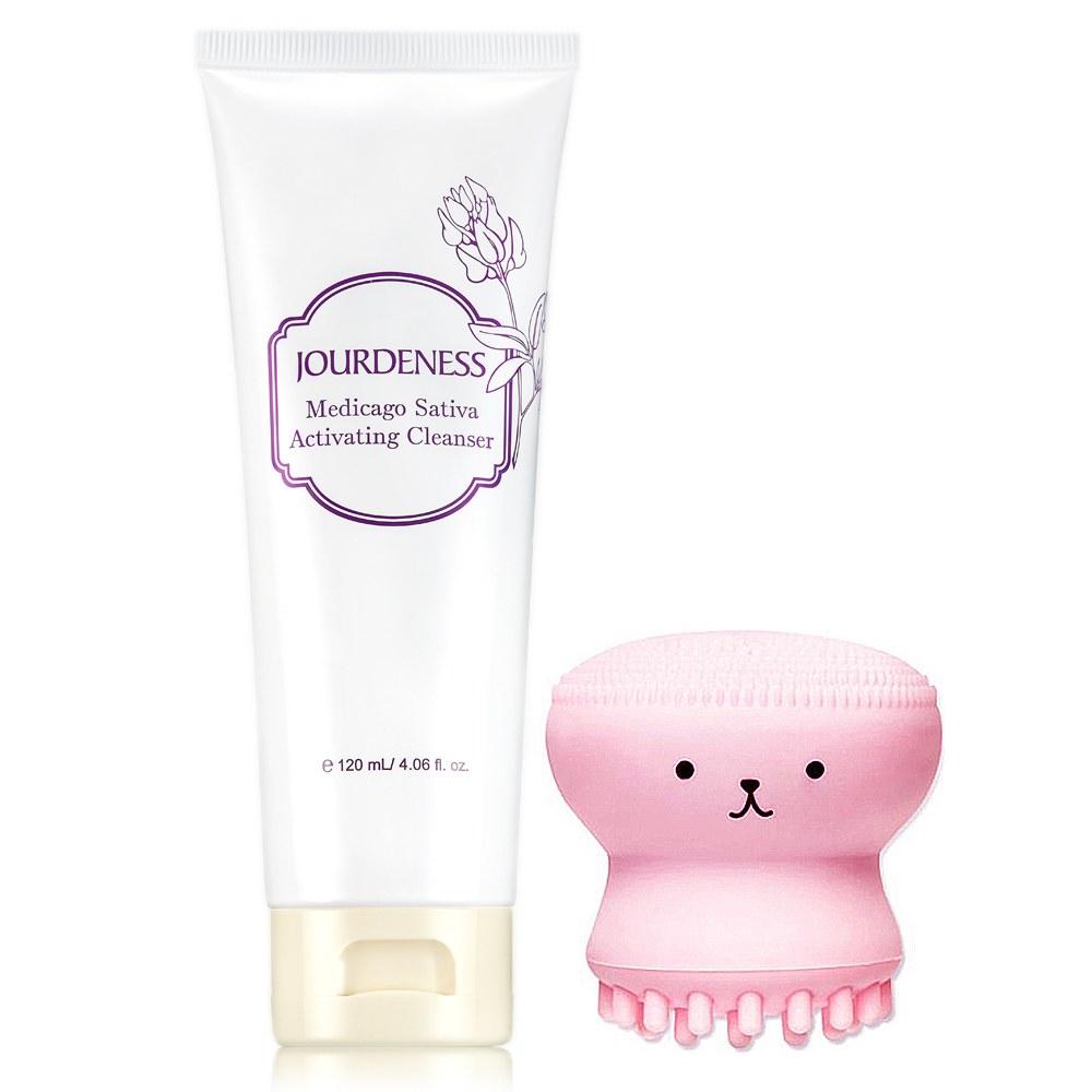 紫花苜蓿活妍潔膚乳120ml贈小章魚洗臉刷