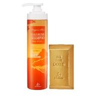【新春限定】龍血求麗頭皮修護洗髮精500ml+開運招財金條皂85g±5g